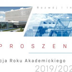 Obrazek opisujący Uroczysta inauguracja roku akademickiego 2019